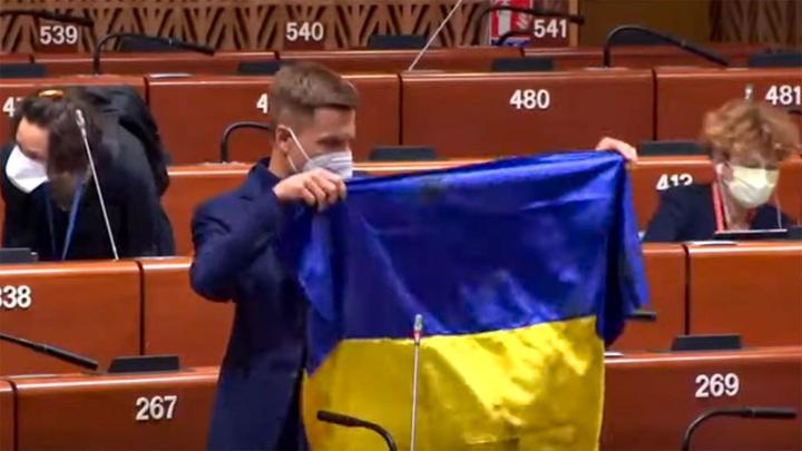 Гопник в ПАСЕ: европарламентарии устали от выходок украинского депутата