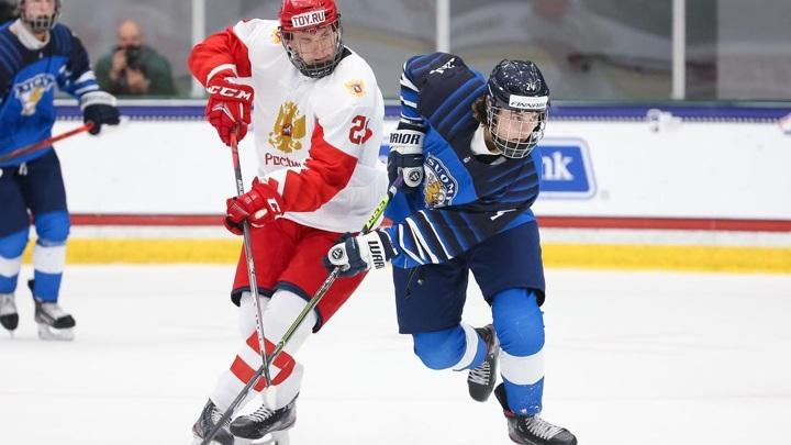 Сборная России уступила финнам на юниорском чемпионате мира