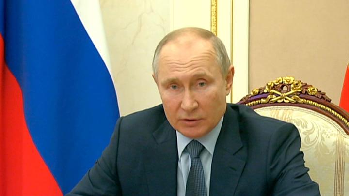 Путин обсудил с Совбезом РФ ситуацию в Каспийском регионе