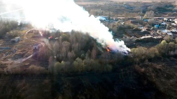 Особый противопожарный режим начал действовать в Ивановской области