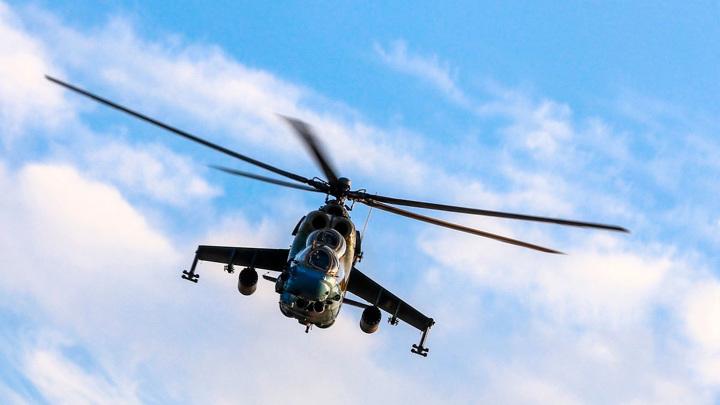 Военный вертолет залетел в Белоруссию со стороны Польши