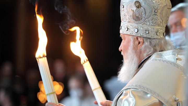 Патриаршее пасхальное богослужение прошло в храме Христа Спасителя в Москве