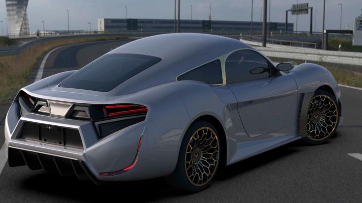 Первый арабский электромобиль: подробности о Quds Rise
