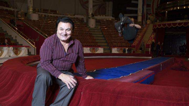 В цирке Никулина простились с дрессировщиком Багдасаровым