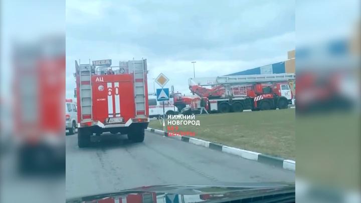 В Нижнем Новгороде торговый центр эвакуировали из-за угрозы взрыва
