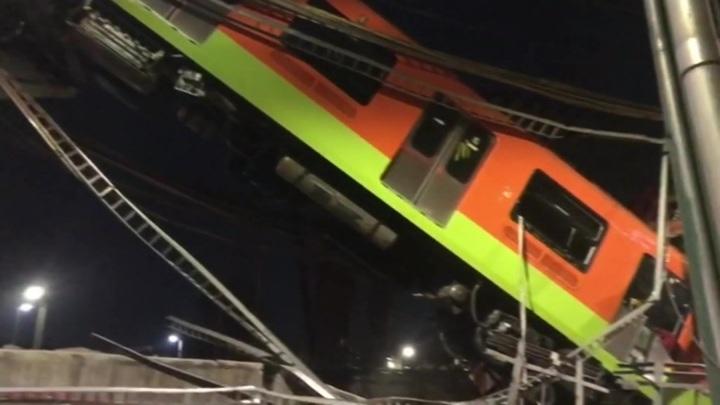 Россиян не было в рухнувшем поезде