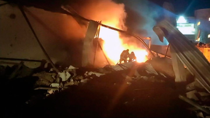 """На газоперерабатывающем заводе """"Коноко"""" в Сирии прогремел взрыв"""