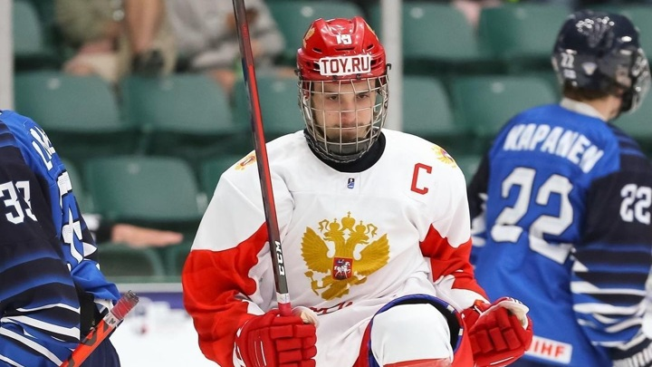 Российские хоккеисты вышли в финал юниорского чемпионата мира