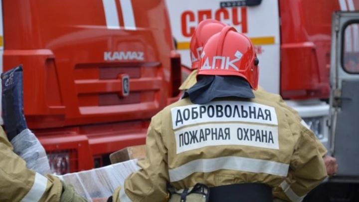 В деревне Каракуль Омской области пожар уничтожил жилые дома