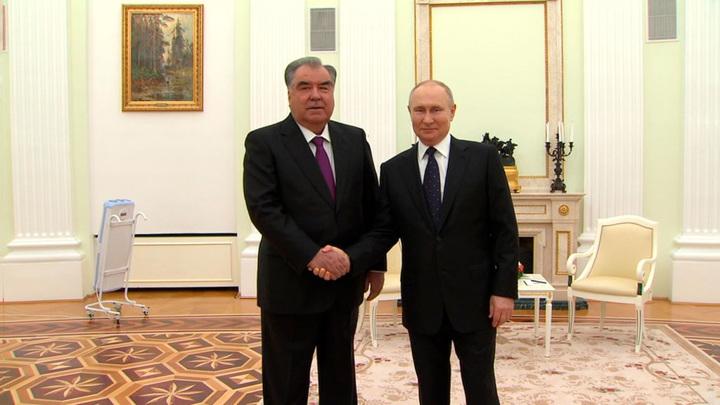 Путин обсудил с Рахмоном миграцию и безопасность