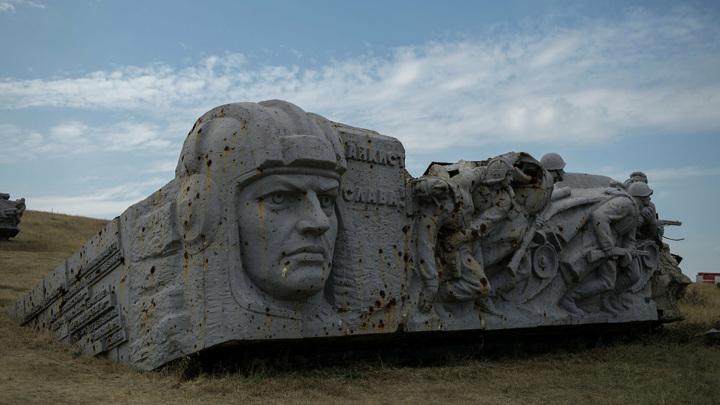 В ДНР развернута 300-метровая Георгиевская лента
