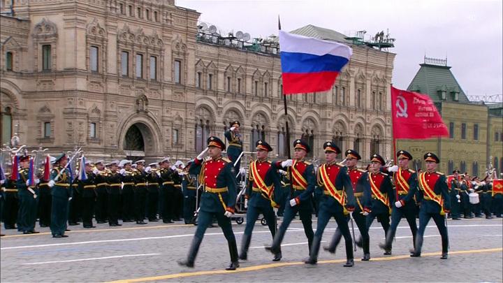 В центре Москвы ограничено автомобильное движение