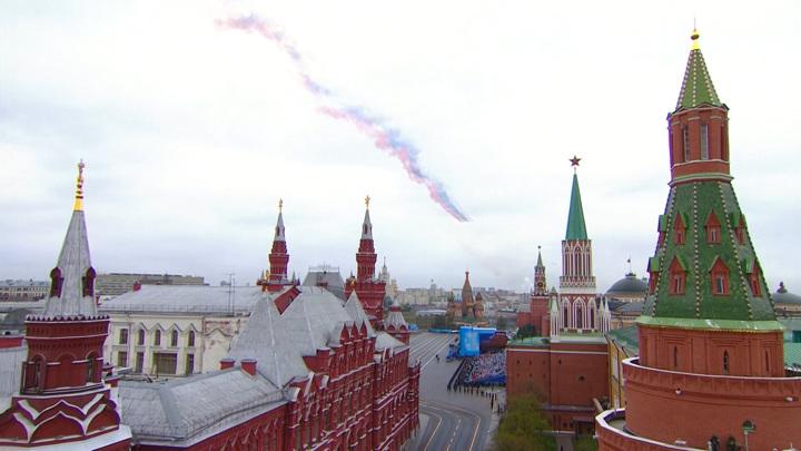 В Москве закончился Парад Победы