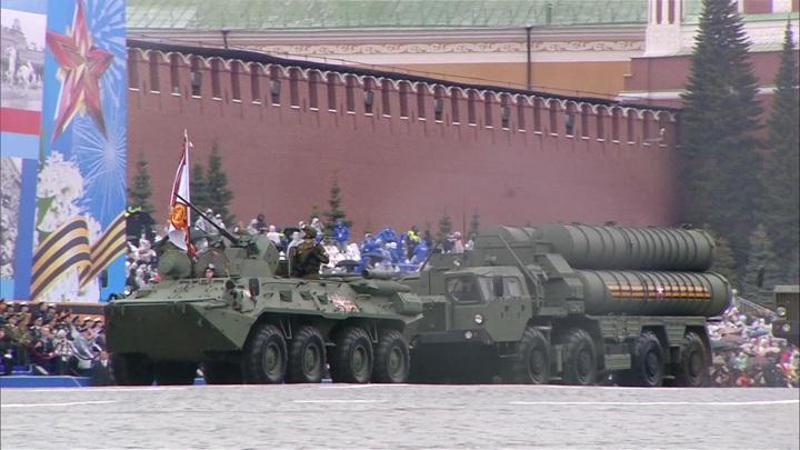 На Красной площади прошел парад в честь 76-й годовщины Победы в ВОВ