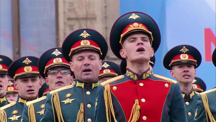 Парад на Красной площади в Москве продолжался 1 час 10 минут