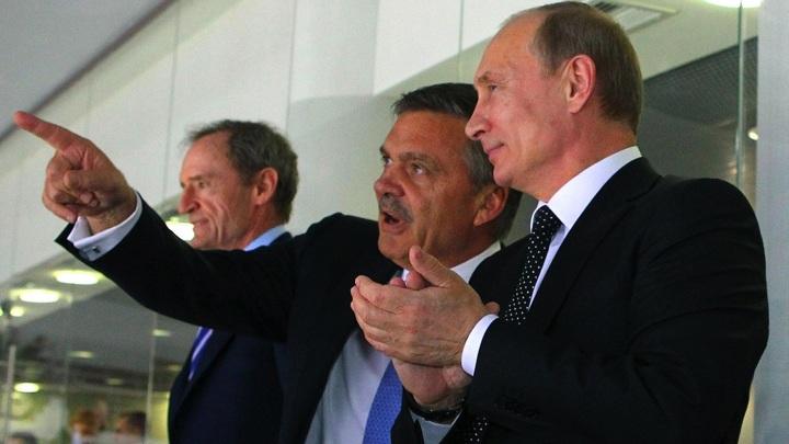Путин обсудил с Фазелем подготовку к хоккейному чемпионату мира
