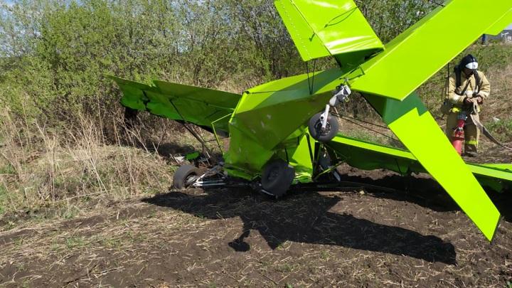 СК установит обстоятельства крушения легкомоторного самолета в Татарстане
