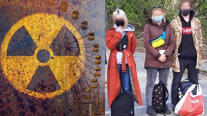 Туристы из России попались при проникновении в Чернобыльскую зону