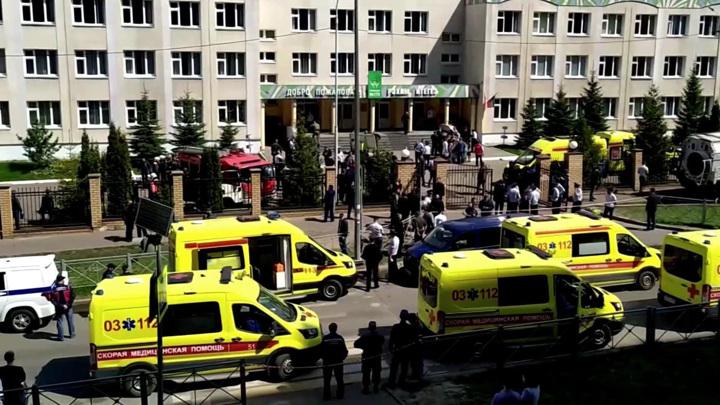 В Казань прибыли медики для оказания помощи пострадавшим при стрельбе в школе