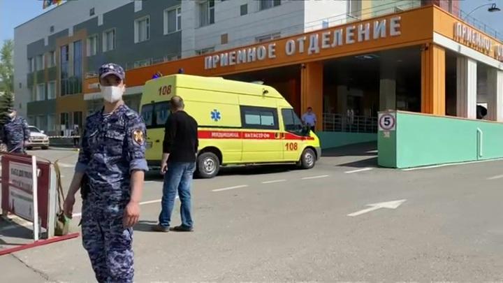 Мурашко: в казанской больнице находятся 18 детей