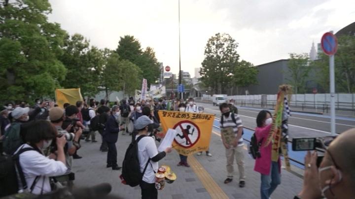 Губернатору Токио передали петицию против проведения Олимпийских игр