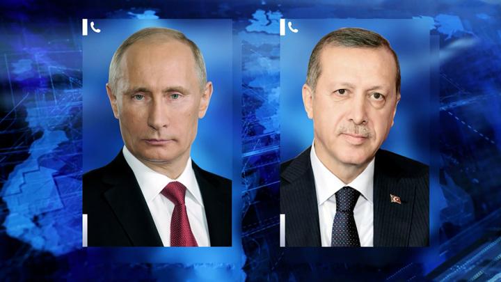 """Путин и Эрдоган обсудили поставки """"Спутника V"""" в Турцию"""