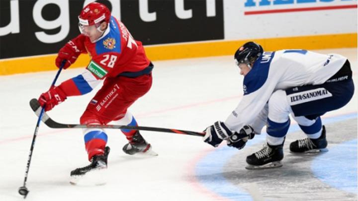Сборная России по хоккею потерпела первое поражение в текущем сезоне Евротура