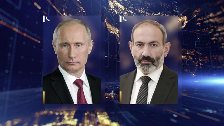 Кремль: Путин и Пашинян неоднократно обсуждали военную помощь Армении