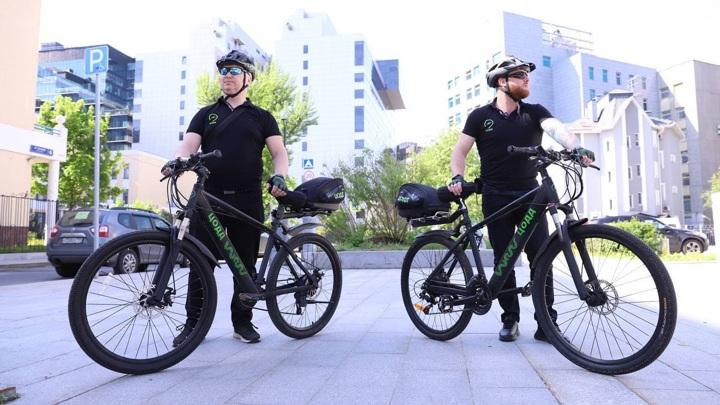 Месяц работы велопатрулей в Москве: первые итоги
