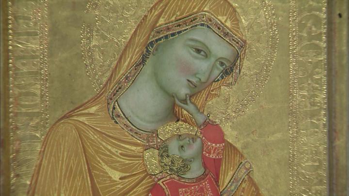 Выставка средневековой итальянской живописи открылась в Эрмитаже