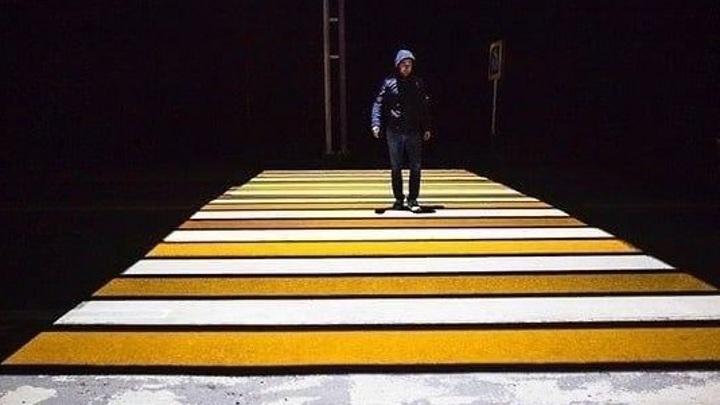 """Полосатые инновации: в Самаре могут появиться проекционные """"зебры"""""""