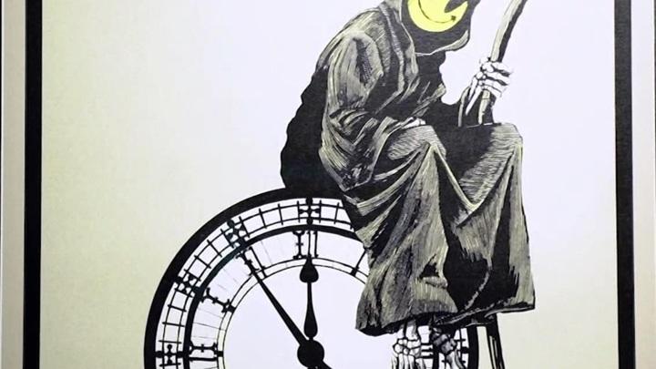 Выставку работ Бэнкси представили в лондонском Ковент-Гардене