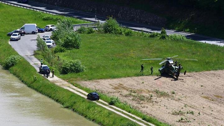 Вертолет ВВС Испании столкнулся с ЛЭП на учениях в Словении