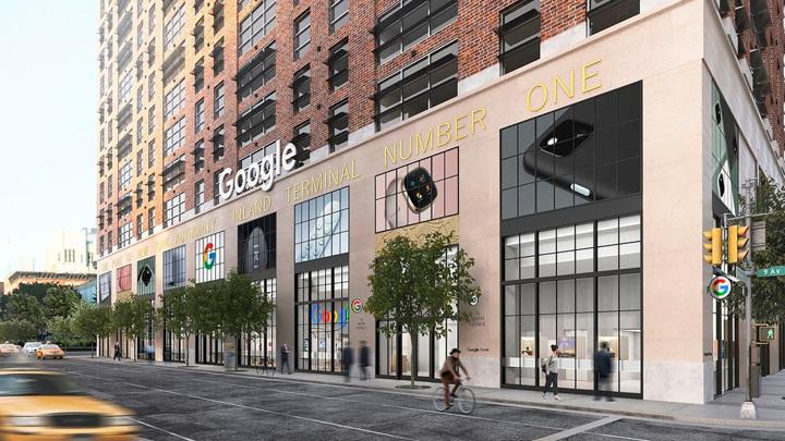Google откроет в Нью-Йорке свой первый розничный магазин