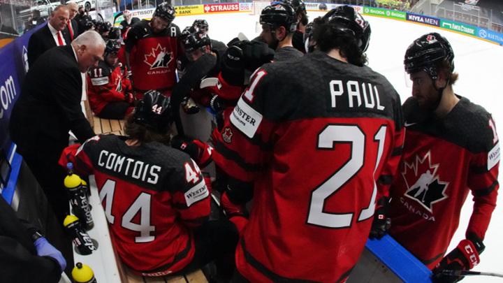 Хоккеисты Канады проиграли второй матч чемпионата мира