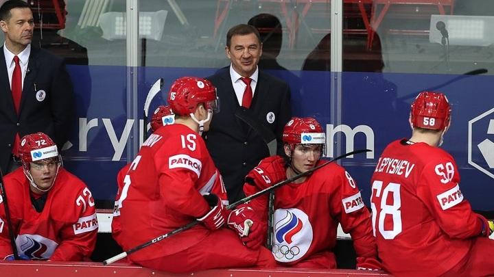 Российские хоккеисты начнут олимпийский турнир матчем со швейцарцами
