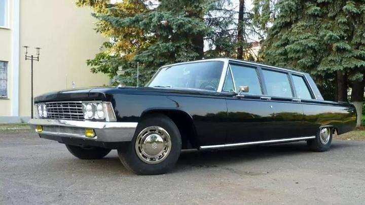 Кремлевский лимузин 1973 года выпуска продают за 19 миллионов