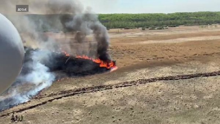 Жители Тюмени начали жаловаться на запах гари