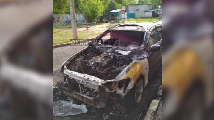 Сжег из-за неприязни: в Благовещенске задержан поджигатель машины