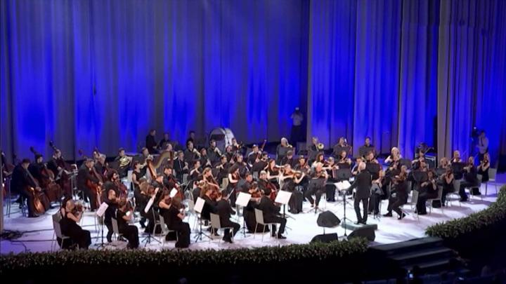 Национальный филармонический оркестр выступил в Узбекистане