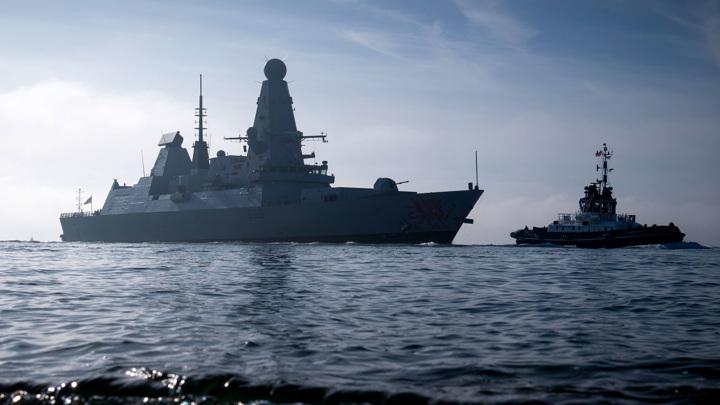 Лондон дал ответ на крымский инцидент с британским эсминцем