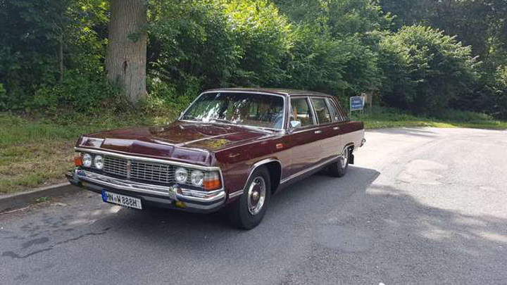 В Германии продают лимузин Леонида Брежнева