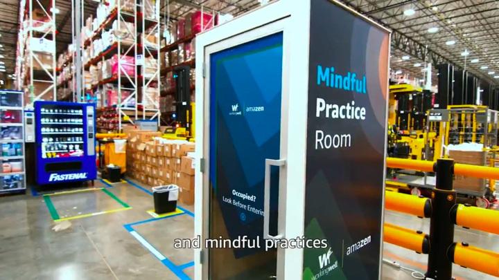 """Amazon установила на складах """"будки для медитации"""""""