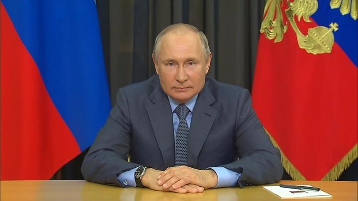 """Путин поздравил семьи, награжденные орденом """"Родительская слава"""""""