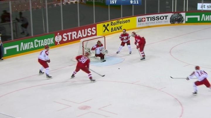 Российские хоккеисты сыграют с канадцами в 1/4 финала чемпионата мира