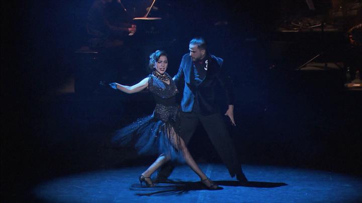 "Король танго Херман Корнехо— вспектакле ""Танго после заката"""