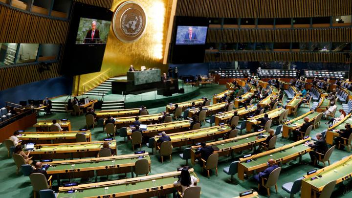 Иран и ЦАР лишены права голоса в Генассамблее ООН