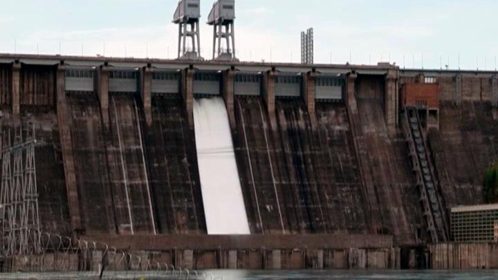 Красноярская ГЭС опубликовала расписание сброса воды на ближайшие дни