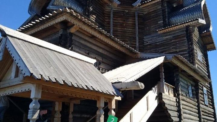 Церковь на Кижах открыли после десятилетней реставрации
