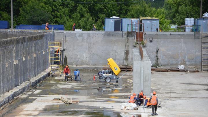 В Твери реконструируют блок биологической чистки очистных сооружений